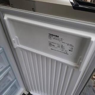 只今、交渉中です。TOSHIBA 縦型冷凍庫 2007年製 - 家電