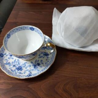 ナルミボーンチャイナの器とペアカップ - 生活雑貨