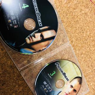 プリズンブレイク  DVD シーズン1 disc1.2無し