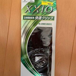 ゴルフグローブ XXIO ブラック 23cm 新品