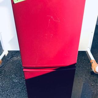 ④60番 シャープ✨ノンフロン冷凍冷蔵庫✨SJ-C14W-R‼️