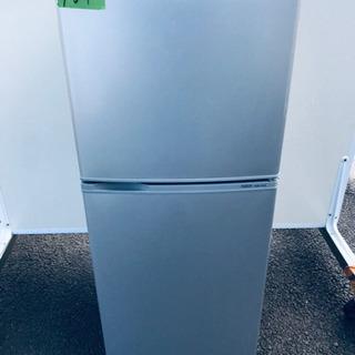 ③161番AQUA✨ノンフロン直冷式冷凍冷蔵庫✨AQR-141A‼️
