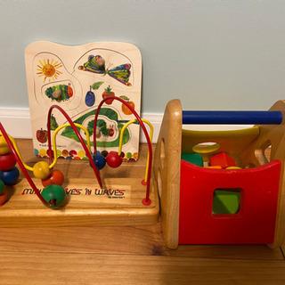木製おもちゃ3点セット