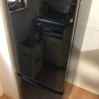 【取引決定済】2016年製★三菱2ドア冷蔵庫 MR-P15A-B