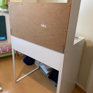 IKEA イケア  MICKE ワークステーション 学習机 パソコンデスク - 売ります・あげます
