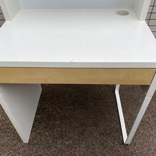 IKEA イケア  MICKE ワークステーション 学習机 パソコンデスク - 目黒区