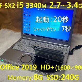 Let's note CF-SX2 i5 2.7~3.4G SS...