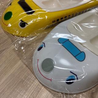 新幹線 ランチプレート 皿 キッズ 2個セット