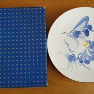 宝仙窯の手書き絵皿