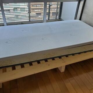 セミダブル すのこベッド
