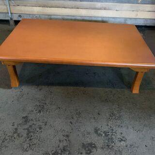 ニトリ 折りたたみテーブル 木製 ウレタン樹脂塗装 格安 …