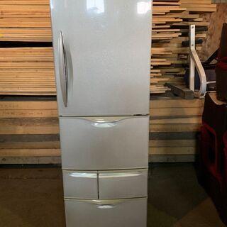 【無料】2006年製 National 5ドア404L冷蔵庫 NR-EM405-S 通電確認済み 配送OK 無料 あげます 0円の画像