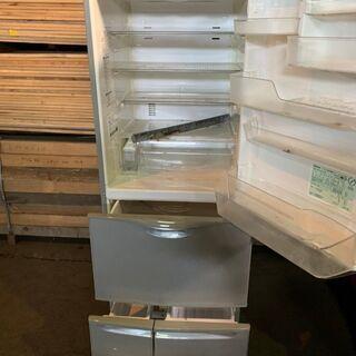 【無料】2006年製 National 5ドア404L冷蔵庫 NR-EM405-S 通電確認済み 配送OK 無料 あげます 0円 - 札幌市