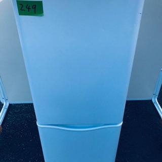①249番 DAEWOO✨冷凍冷蔵庫✨DR-B15CW‼️