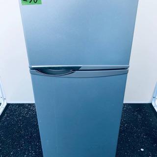 ①256番 シャープ✨ノンフロン冷凍冷蔵庫✨SJ-H12W-S‼️