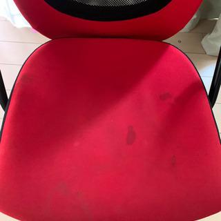 真っ赤なPcチェアー - 家具