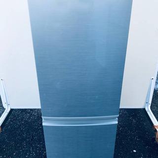 ①257番 シャープ✨ノンフロン冷凍冷蔵庫✨SJ-17Y-S‼️