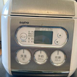 サンヨー 3合 炊飯器