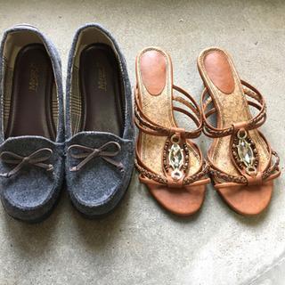 レディース 靴 2点