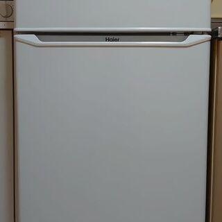 【商談中】美品!ハイアール 130L 2ドア冷蔵庫(直冷式)ホワ...