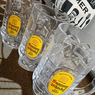 サントリーウイスキーグラス3つ