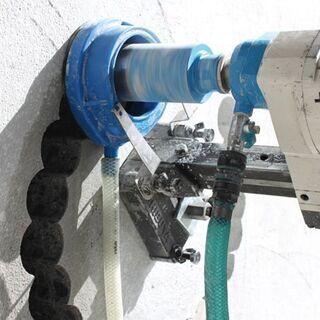 鉄筋コンクリート穴明け工事 エアコン ランケーブル 換気扇