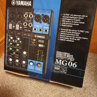 新古品 YAMAHA ミキサー MG-06