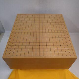 美品 本榧 足付碁盤 5寸7分 17.4cm 碁石 はまぐり セ...