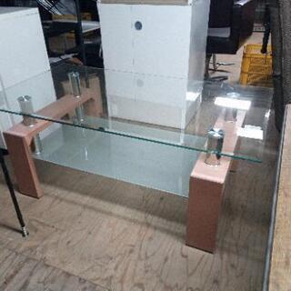 ガラスローテーブル1