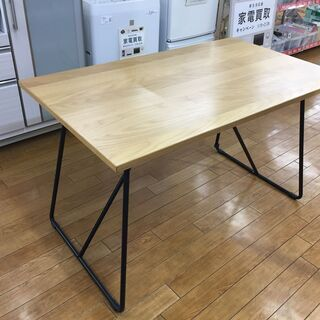 【トレファク鶴ヶ島店】無印良品 折りたたみテーブル オーク材