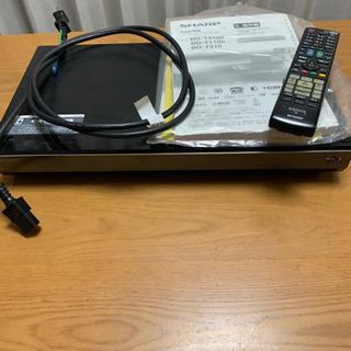 SHARP  Blu-rayレコーダー 1T