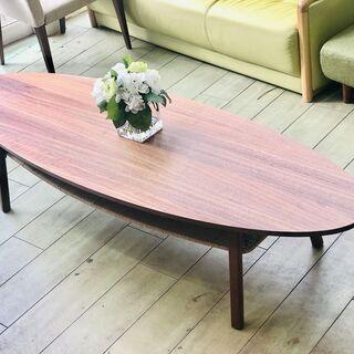 IKEA イケア センターテーブル オーバルローテーブル STO...
