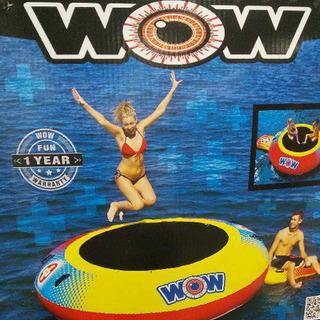 WOW Bouncer 水上トランポリン 二箱 とにかく楽しいです