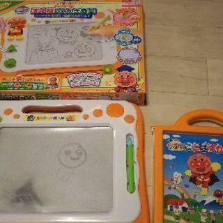 知育玩具 アンパンマン ことばずかん らくがき教室