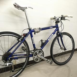 GIOS クロスバイク ブルー SHIMANO 21速 ジオス シマノ