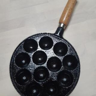 たこ焼き器(鉄)  🎶値下げしました🎶