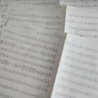 ドラム譜お作り致します