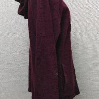 メンズパーカー/L/ワインレッド - 服/ファッション