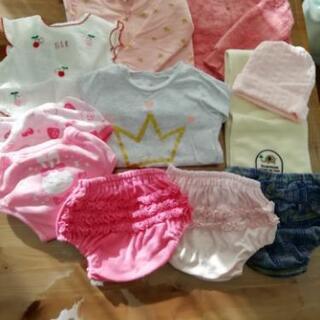 女の子 子供服80~90サイズ 11点セット新品多数