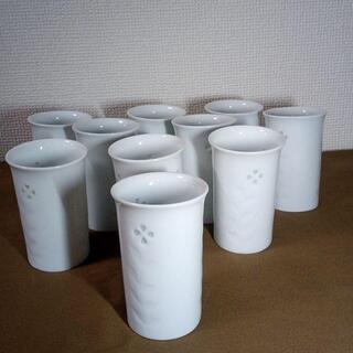 有田焼 源山作 湯呑タンブラー7個+おまけ不出来3個 計10個セット