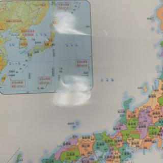 くもんの学習ポスター 日本地図🗾 - 久喜市