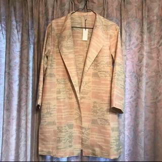 着物リメイク 黄色の羽織り