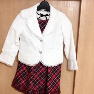女の子 卒園式 入学式 セレモニースーツ 120cm anyfam