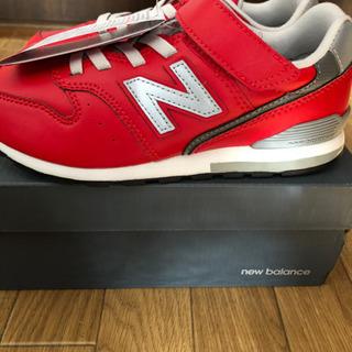 kids スニーカー ニューバランス  YV996 LBK 商談中 新品未使用品 21cm - 靴/バッグ