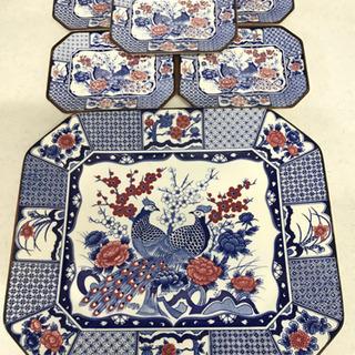 Akura 絵皿  セット 美品
