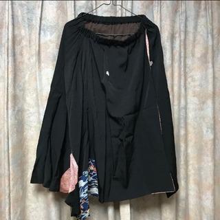 着物リメイク ロングスカート