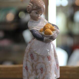 【店舗同時販売中】LLADRO リヤドロ 置物 「オレンジがいっ...