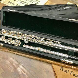 Pearl Fluteパール フルート PF-665 頭部管銀製...