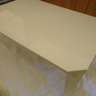 ◎HK-574 説明文必読‼️ニトリ 白い折り畳みテーブル