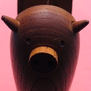 🐷豚さん 木製ホッチキス